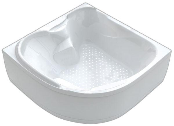 Акриловая ванна BellSan Лора 1500*1500*760